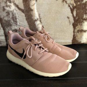 Pink Nike Roshe One Sneakers